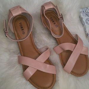 Torrid Blush Wedge Sandal